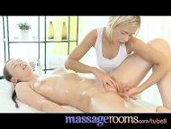 Massage Rooms Blonde teen...