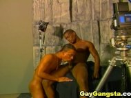 Gay Sucking Black Cock wi...