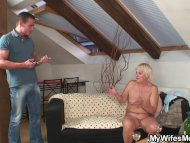 Drunk orgy with horny gra...