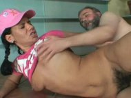 Horny Teen Fucked By Old Man