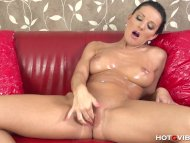 Oiled Up Nympho Squirts A...