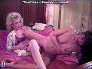 Kinky lesbian couple bedr...