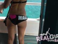 Sexy bikini girls go wild...