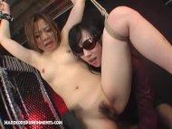 Japanese FemDom With Huge...