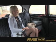 FakeTaxi Mature blonde mo...