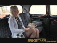 FakeTaxi Mature blonde mo...