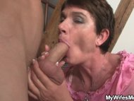Horny mother in law seduc...