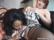 Danica & Red Lesbian Loving