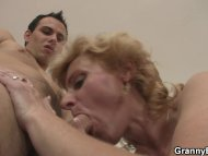 Old blonde is picked up f...