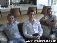 Threesome With Aussie Men...