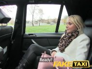 FakeTaxi Blonde customer ...