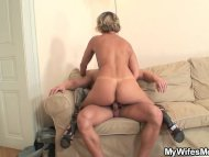 Hot mother in law enjoys ...