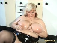 blonde MILF with extreme ...