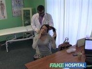 Fake Hospital Stiff neck ...
