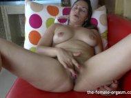 Hot Latina Frantic Finger...