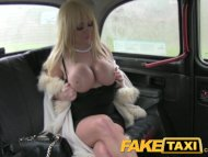 FakeTaxi Massive tits and...