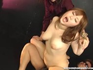 Cute Japanese sex slave m...