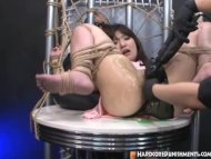 Bounded Japanese babe had...