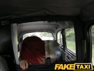 FakeTaxi Red head takes o...