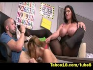Threesome Action during c...