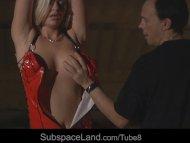 Innocent hot blonde slave...