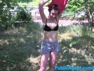 PublicAgent Brunette with...