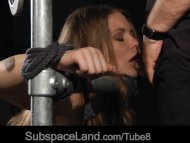 Hot slave girl tamed with...