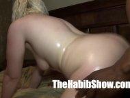blonde loves her BBC puss...