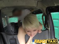 FakeTaxi Lady gets two bu...