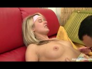 Blonde teen Lucy gets fuc...