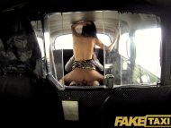 FakeTaxi Sexy long haired...