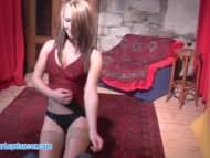 Sexy teen lapdancer gets ...