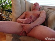 Bald Straight Guy Rob Mas...