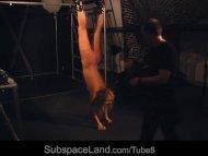 Kinky suspended bdsm fant...