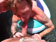 HD – MenPov Guys get their dicks wet and wild in the pool