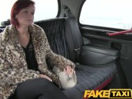 FakeTaxi Short haired red...