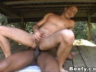 Hot Gay Muscle Dude get B...