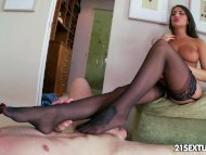 Amazing August Ames shows...