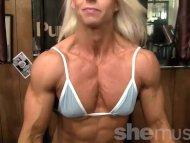 Pro Bodybuilder Nathalie ...