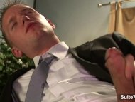 Elegant Sean Preston wank...