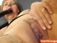 Iva stuffing her hungry m...