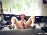 Extremely Pleased Redhead...