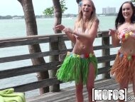 Mofos - Grass skirts and ...