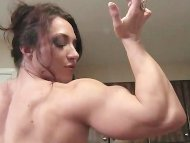 BrandiMae Flexes and Fuck...