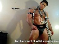 Chained Cumming Muscle stud