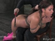 Mia Gold Gets Spanked in ...