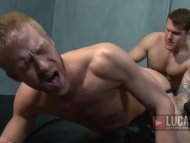 Hot Blond Guy Gets Pissed...
