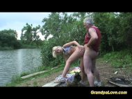 Grandpa gets lucky with a...