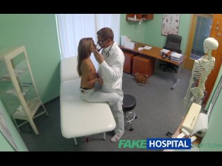 FakeHospital Spying on hot young babe having special treatment from the dr