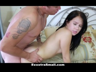 ExxxtraSmall - Deep Inside Megan Rain's Warm Shaved Pussy!